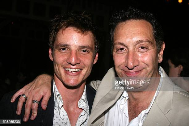 Pedro Pascal and Moises Kaufman director during Opening Night Afterparty for Macbeth at The Belvedere Castle in Central Park at The Belvedere Castle...