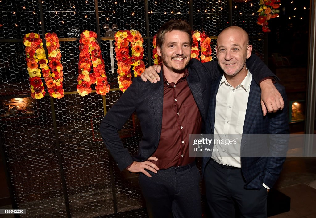 Pedro Pascal and VP, Original Series at Netflix Peter Friedlande attend the 'Narcos' Season 3 New York Screening After party on August 21, 2017 in New York City.