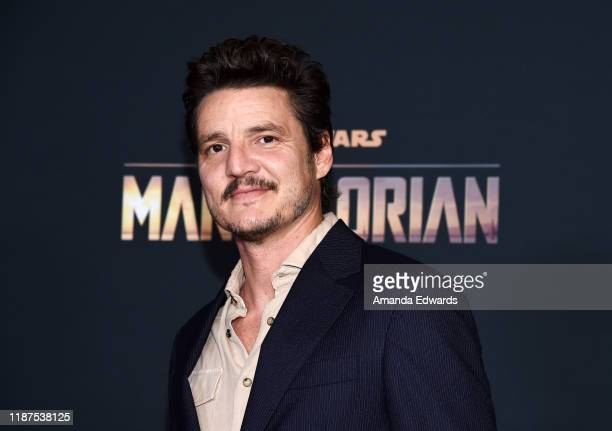 Pedro Pascal arrives at the premiere of Disney's The Mandalorian at the El Capitan Theatre on November 13 2019 in Los Angeles California