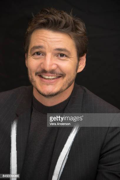 Pedro Pascal at the Kingsman The Golden Circle Press Conference at the Ham Yard Hotel on September 18 2017 in London England