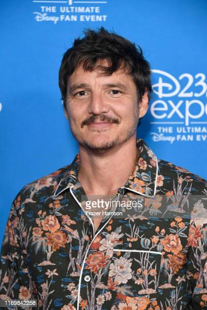 Pedro Pascal attends D23 Disney event at Anaheim Convention Center on August 23 2019 in Anaheim California
