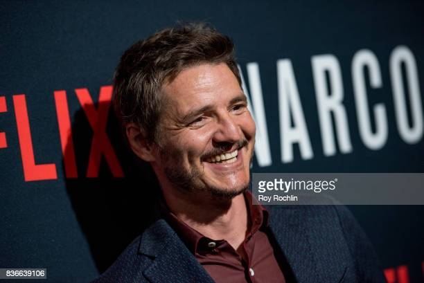 Pedro Pascal attends Narcos season 3 New York Screening at AMC Loews Lincoln Square 13 theater on August 21 2017 in New York City