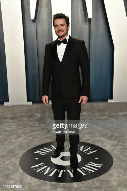 Pedro Pascal attends the 2020 Vanity Fair Oscar Party hosted by Radhika Jones at Wallis Annenberg Center for the Performing Arts on February 09 2020...