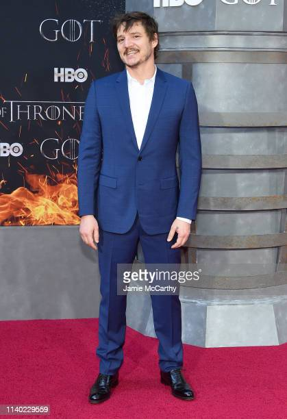 Pedro Pascal attends the Game Of Thrones Season 8 Premiere on April 03 2019 in New York City