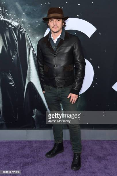 Pedro Pascal attends the Glass New York Premiere at SVA Theater on January 15 2019 in New York City