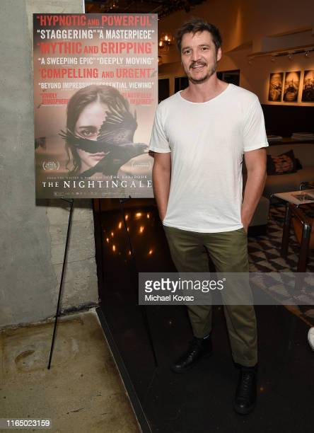 Pedro Pascal attends the Los Angeles Special Screening of The Nightingale at NeueHouse Los Angeles on July 29 2019 in Hollywood California