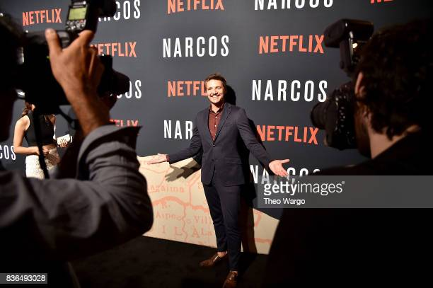 Pedro Pascal attends the 'Narcos' Season 3 New York Screening at AMC Loews Lincoln Square 13 theater on August 21 2017 in New York City