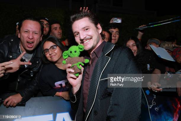 Pedro Pascal attends the Premiere of Disney's Star Wars The Rise Of Skywalker on December 16 2019 in Hollywood California