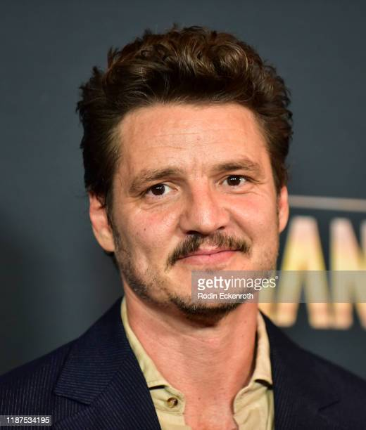 Pedro Pascal attends the Premiere of Disney's The Mandalorian at El Capitan Theatre on November 13 2019 in Los Angeles California