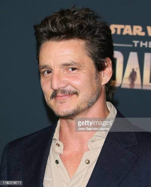 Pedro Pascal attends the premiere of Disney's The Mandalorian at the El Capitan Theatre on November 13 2019 in Los Angeles California