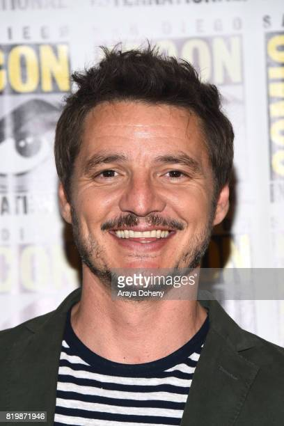 Pedro Pascal attends the press line for Kingsman The Golden Circle on July 20 2017 in San Diego California