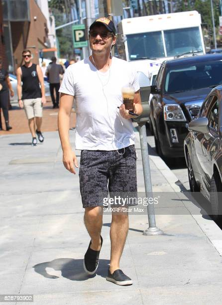 Pedro Pascal is seen on August 9, 2017 in Los Angeles, California