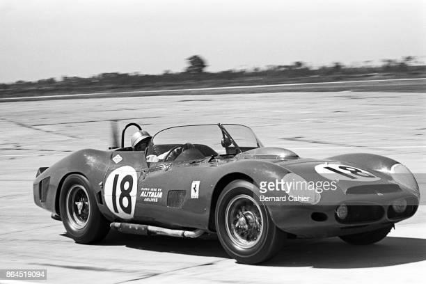 Pedro Rodriguez Ferrari 330TRI/LM 12 Hours of Sebring Sebring 23 March 1963