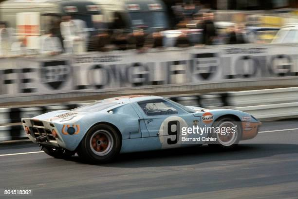 Pedro Rodriguez Lucien Bianchi Ford GT40 24 Hours of Le Mans Le Mans 29 September 1968