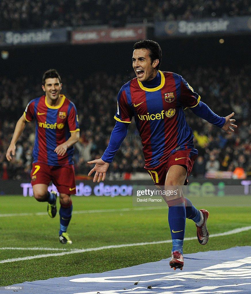 Barcelona v Almeria - Copa del Rey : ニュース写真