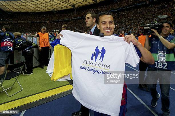 Pedro Rodriguez of FC Barcelona during the UEFA Champions League final match between Barcelona and Juventus on June 6 2015 at the Olympic stadium in...