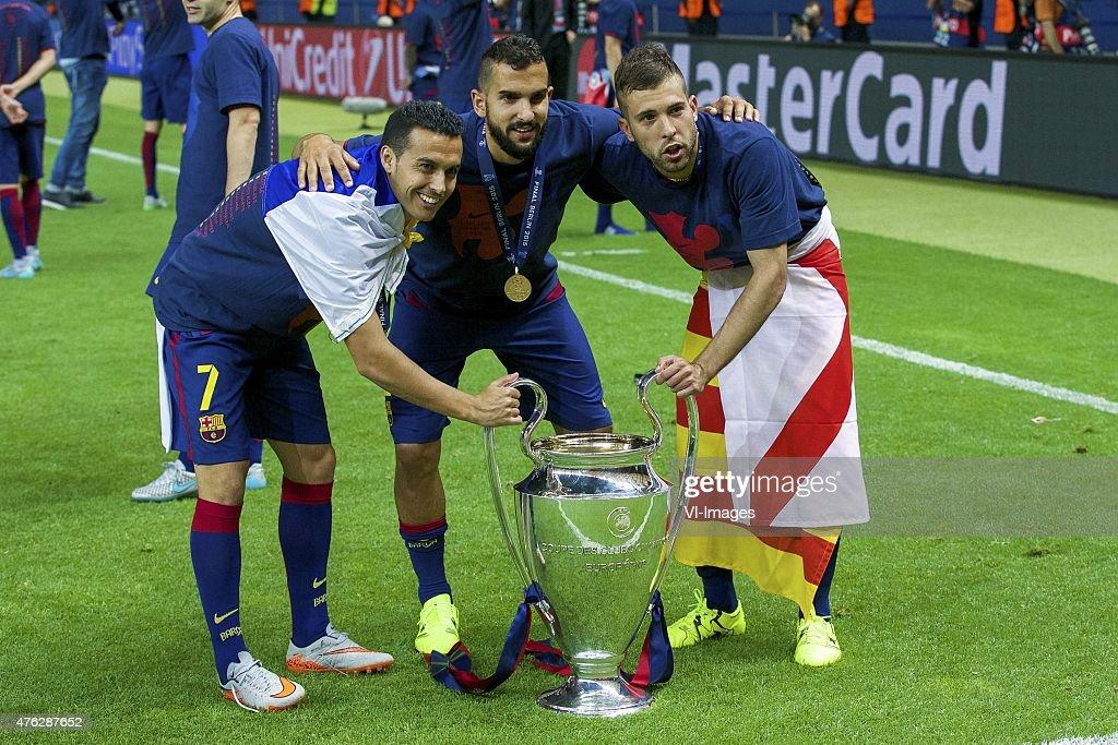 Champions League final - 'Barcelona v Juventus' : News Photo