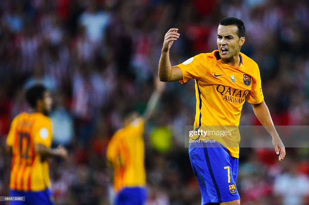 Athletic Club v Barcelona - Spanish Super Cup: First Leg : ニュース写真