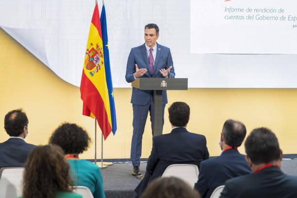ESP: Spain's Prime Minister Pedro Sanchez News Conference