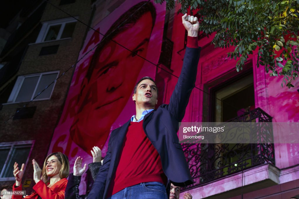 Spain Votes In General Election Re-run : News Photo