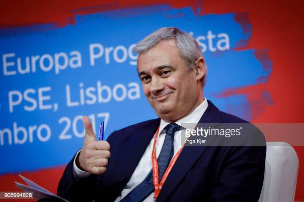 Pedro Silva Ferreira MEP of PS Portugal and President of ResPublica in the course of the PES party congress on December 01 2017 in Lisbon Portugal