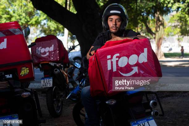 Pedro Sydnei 30 years old resident of Morro do Turano in the Tijuca neighborhood poses for a portrait on March 24 2020 in Rio de Janeiro Brazil He...