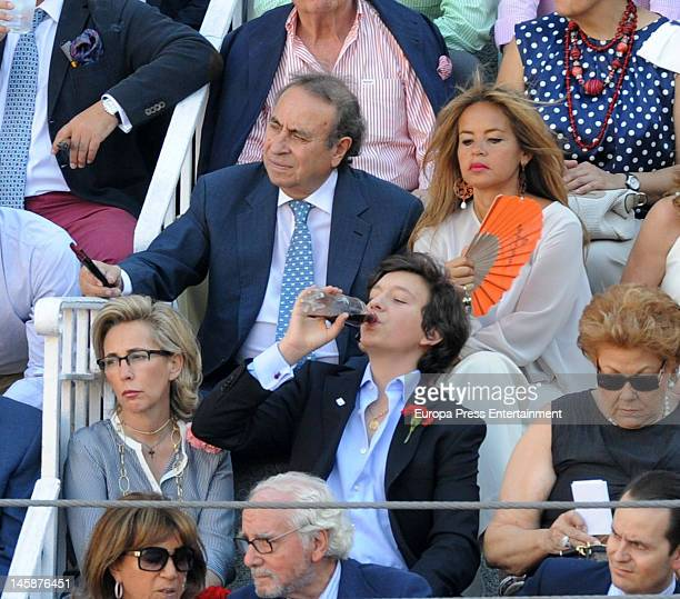 Pedro Trapote and Begona Garcia Vaquero attend Beneficiencia bullfight at Plaza de Toros de Las Ventas on June 6 2012 in Madrid Spain