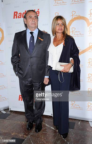 Pedro Trapote and Begona Garcia Vaquero attend Jose Manuel Soto concert at the Nuevo Apolo Theater on May 21 2012 in Madrid Spain