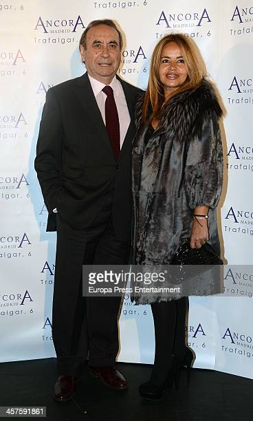 Pedro Trapote and Begona Garcia Vaquero attend 'Lo Que Escondian Sus Ojos' book presentation on December 17 2013 in Madrid Spain