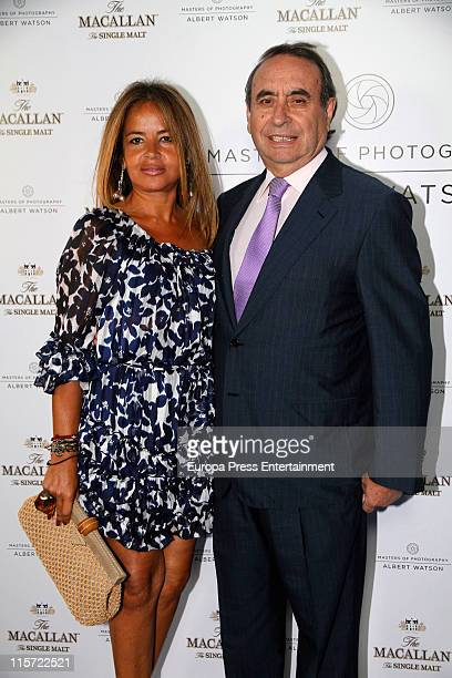Pedro Trapote and Begona Garcia Vaquero attend 'Master of Photography' exhibition on June 8 2011 in Madrid Spain
