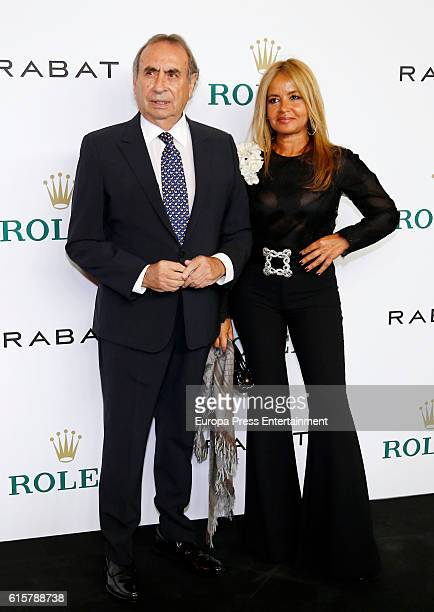 Pedro Trapote and Begona Garcia Vaquero attend Rabat and Rolex party at Florida Park Club on October 18 2016 in Madrid Spain