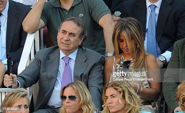 Pedro Trapote and Begona Garcia Vaquero attend the 'Bulfights 2011' season at Las Ventas bullring at Plaza de Toros de Las Ventas on May 24 2011 in...