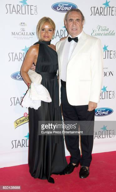 Pedro Trapote and Begona Garcia Vaquero attends Starlite Gala on August 13 2017 in Marbella Spain