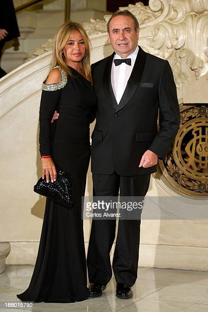 Pedro Trapote and wife Begona Garcia Vaquero attend the Ralph Lauren Dinner Charity Gala at the Casino de Madrid in on November 14 2013 in Madrid...