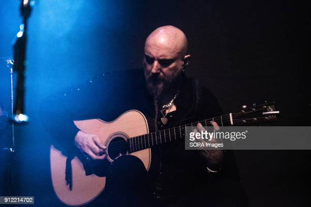 Pedro Valero Luar Na Lubre's guitarist seen at the gig Luar na Lubre is a Spanish music band formed in 1986 they hosted their first gig in the UK in...