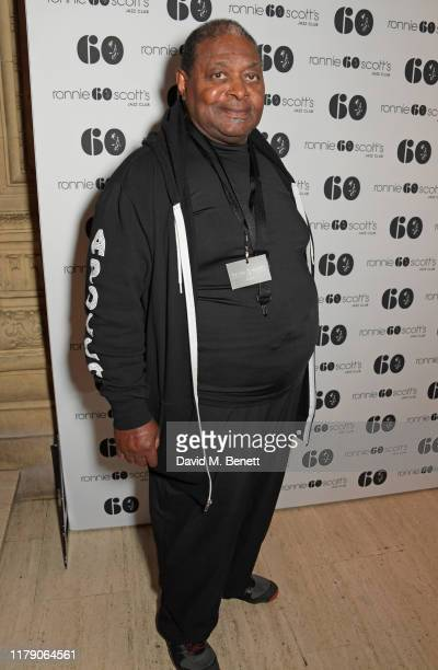 Pee Wee Ellis attends A Night At Ronnie Scotts 60th Anniversary Gala at the Royal Albert Hall on October 30 2019 in London England