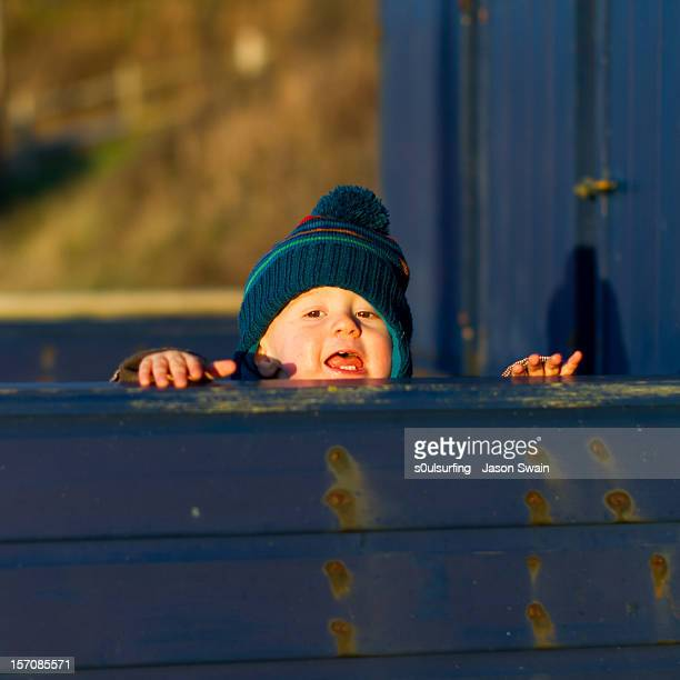 peek-a-boo - totland bay stock pictures, royalty-free photos & images