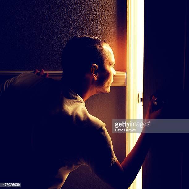 Peeking Behind the Door