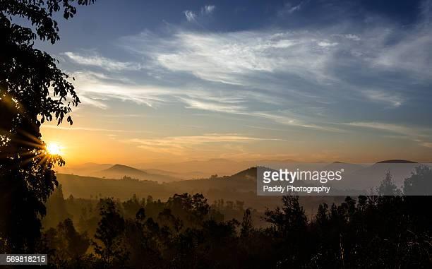 Peeking Sun, Araku Valley