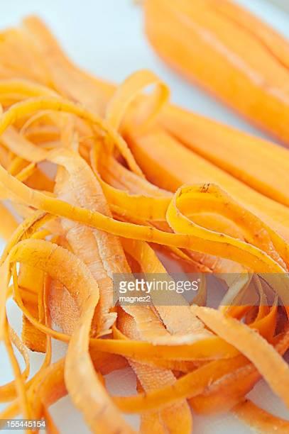 Épluché carottes