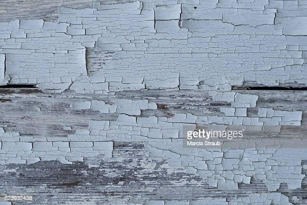 Peeling Weathered Wood