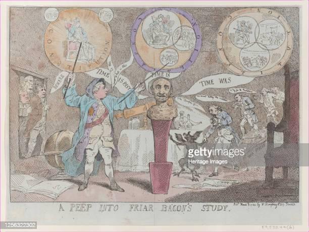 A Peep into Friar Bacon's Study March 3 1784 Artist Thomas Rowlandson