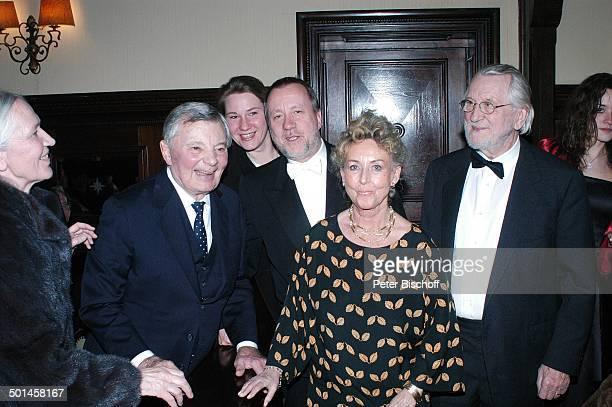 """Peer Schmidt , Barbara """"Bärbel"""" Prey und Gäste, Party zum 80. Geburtstag von P e e r S c h m i d t, """"Restaurant Moorlake"""", Berlin, Wannsee,..."""