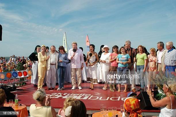 Peer Schmidt, Ehefrau Helga Schlack, Katja Ebstein, Ludger Abeln , Madeleine Wehle , Marie-Luise Marjan, Kati und Ela von der Musikgruppe...
