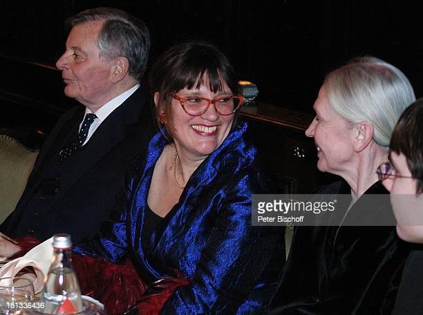 Peer Schmidt, Tochter Petra, Name folgt, Enkel Tobias , Party zum 80. Geburtstag von P e e r S c h m i d t, Berlin, Wannsee, Deutschland, ,