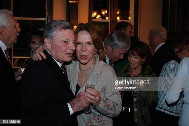 Peer Schmidt Ursula Heyer Party zum 80 Geburtstag von P e e r S c h m i d t Restaurant Moorlake Berlin Wannsee Deutschland Europa Geburtstagsfeier...