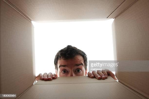 Peering into a box