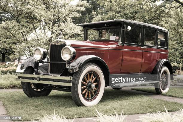 peerless 60/90 prewar vintage classic car - 20th century stock photos and pictures