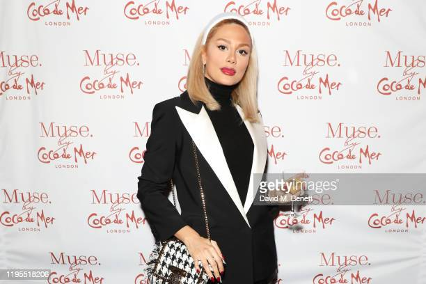 Pegah Pourmand attends the launch of Muse by Coco De Mer at Sketch on January 23 2020 in London England