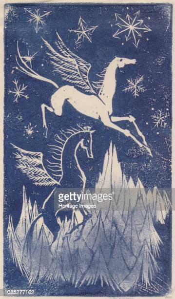 Pegasus, circa 1950. Artist Shirley Markham.
